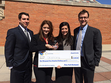 Students at Case Competitions